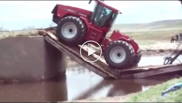 Бешенные операторы тракторов