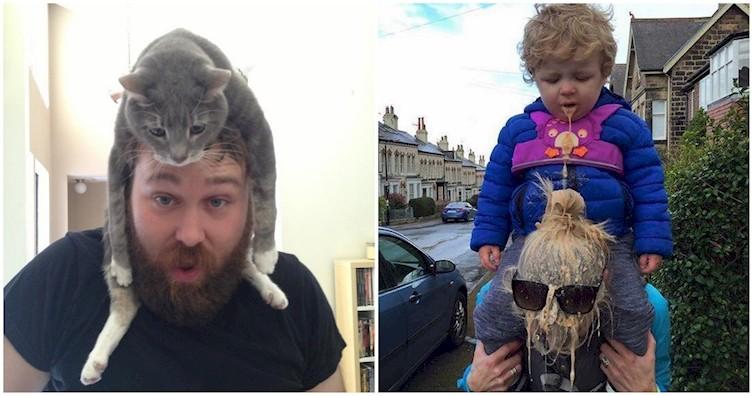 Дети против котов: великое противостояние (19фото)