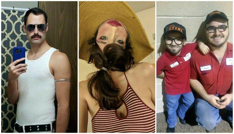 40 сумасшедших костюмов на Хэллоуин, которые непросто переплюнуть (41фото)