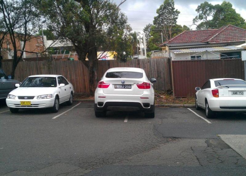 Любители парковать автомобили по-особенному (18фото)