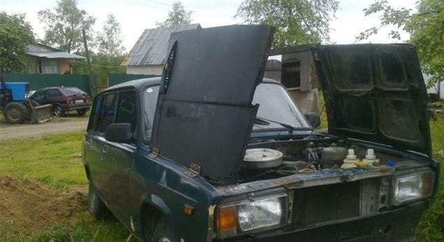 Необычный тюнинг авто (34фото)