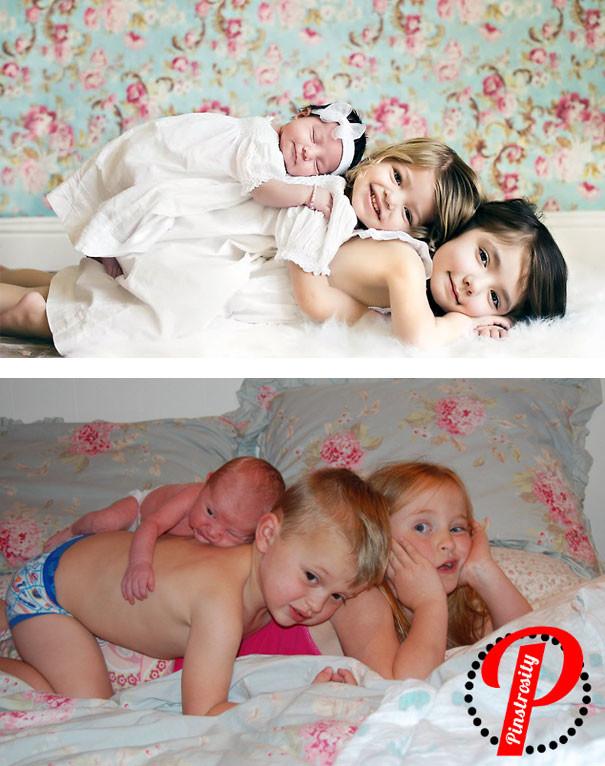 Семейные фото с грудничками идеи