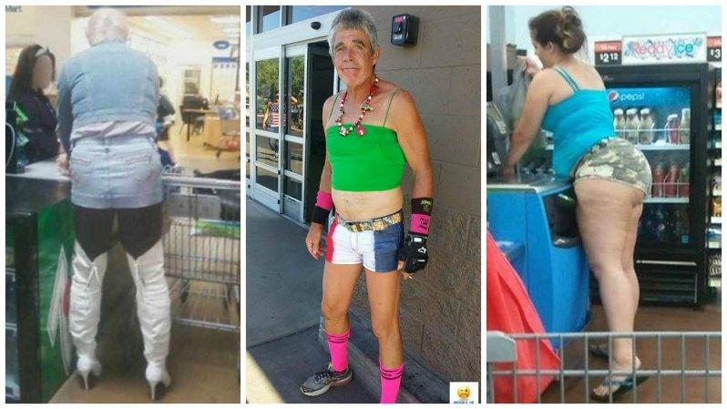 Америка, прекрати или сумасшедшие покупатели американских супермаркетов (18фото)