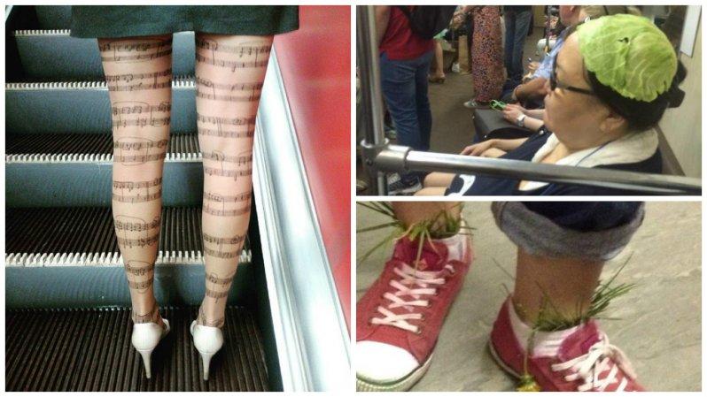 На кого полюбоваться в отечественном метро (31фото)