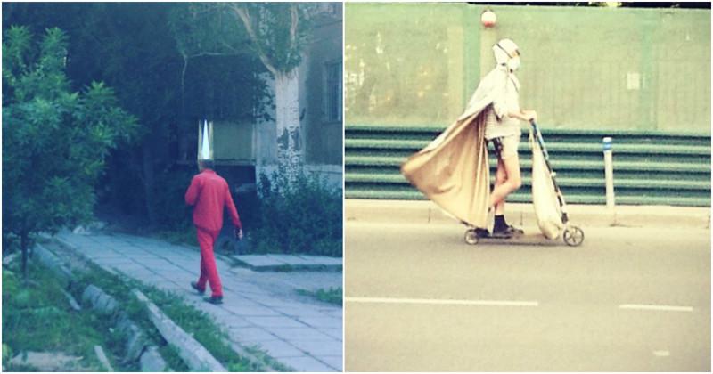 На улицах можно встретить безумно крутых людей! (21фото+1видео)