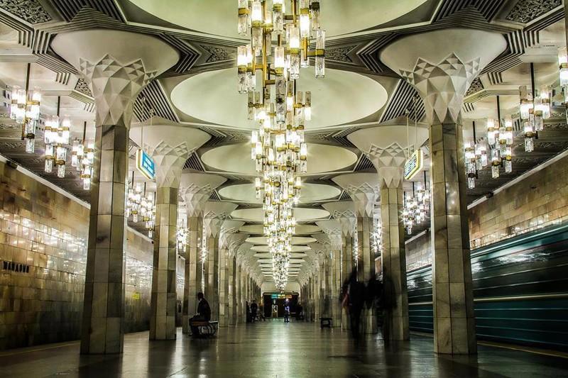 Красота Ташкентского метро (9фото)