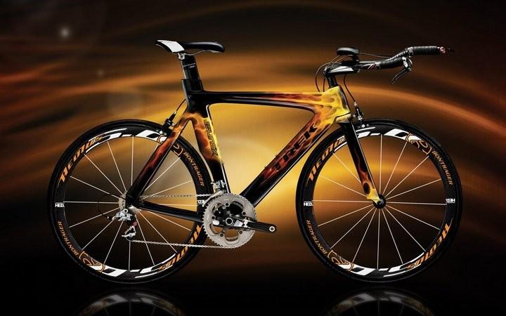 Самые необычные и красивые велосипеды (10фото)