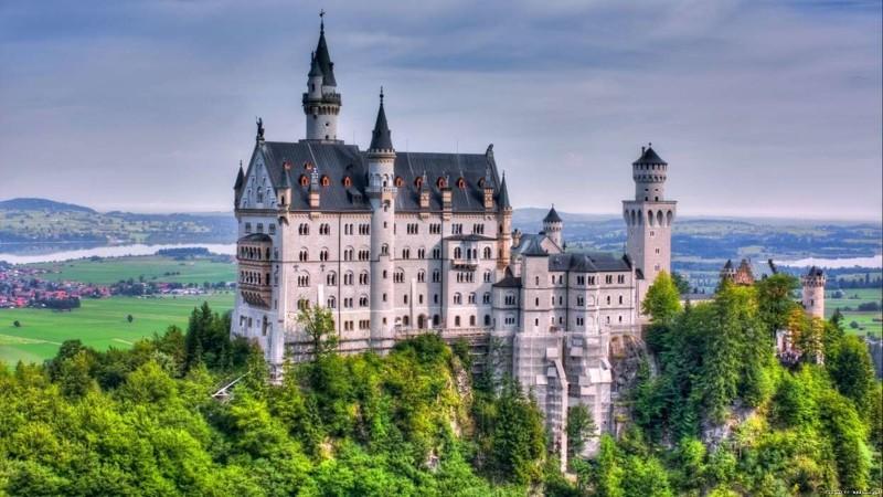 Самые необычные замки (9фото)