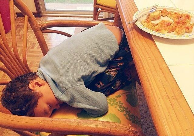 14 фотографий спящих малышей, которые заставят вас улыбаться (14 фото)
