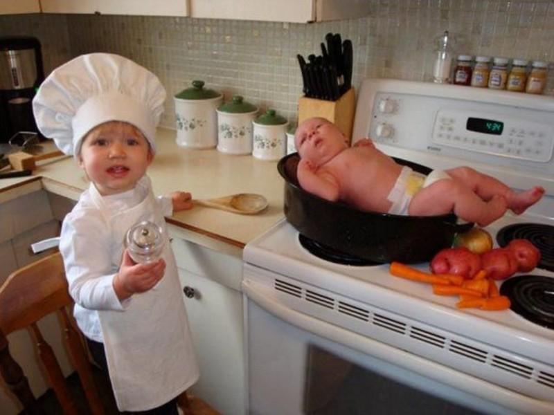 Веселые фото приколы о детях для хорошего настроения! (37фото)