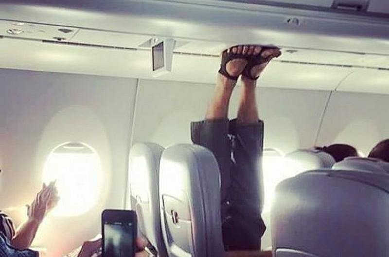 Эти люди могут оказаться вашими соседями по самолету! (21фото)