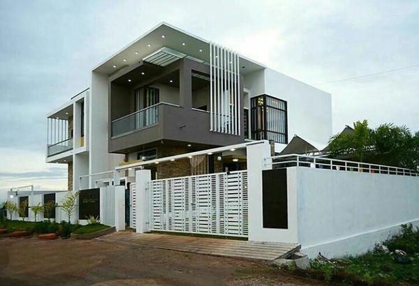 Подборка современных частных домов (24фото)