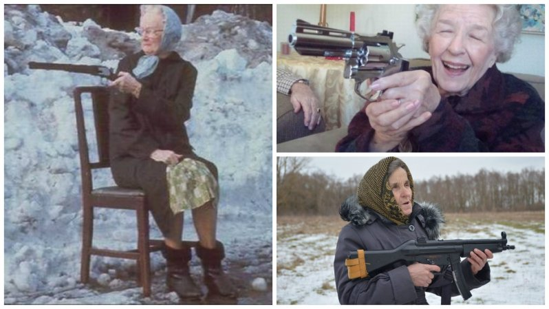 У таких бабушек не забалуешь (20фото)