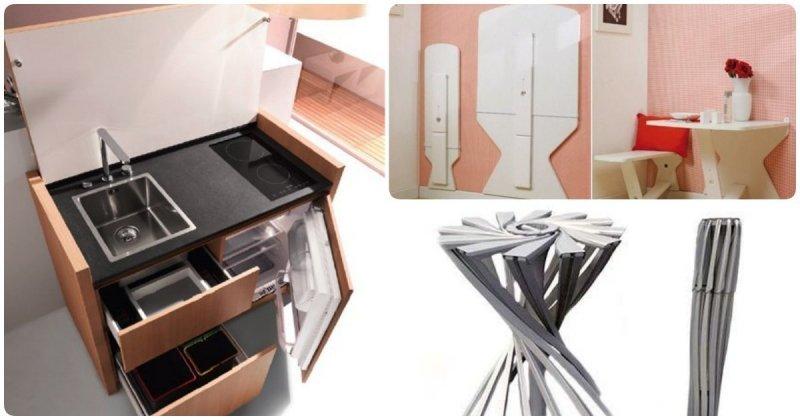 14 компактных вещей для тех, кто экономит место в квартире или чемодане (15фото)