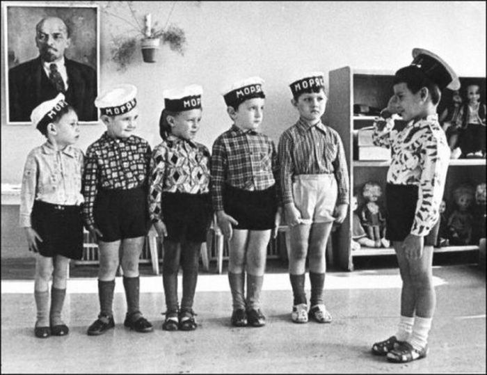 Подборка фотографий простых детишек родом из Советского прошлого (35фото)