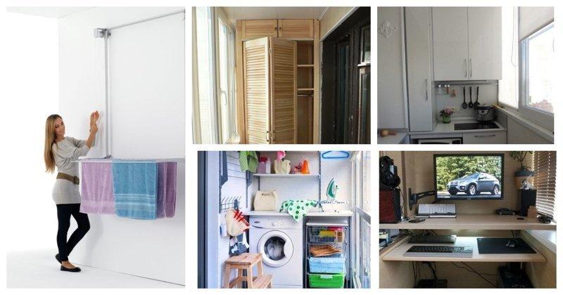20+ больших идей для маленького балкона (28фото)