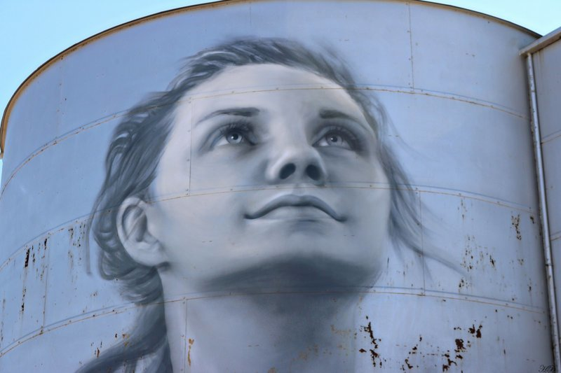 «Сило-арт» — масштабные граффити на элеваторах и зернохранилищах (34фото)