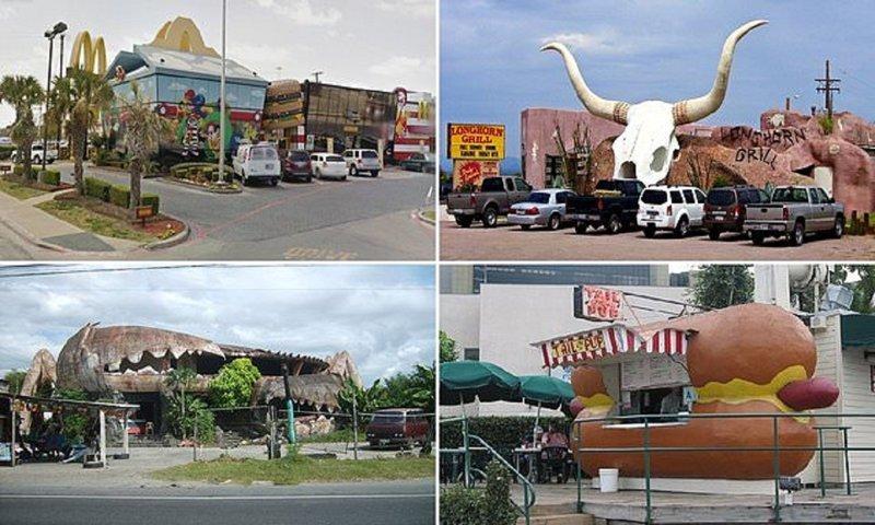 Самые странные здания ресторанов (13фото)