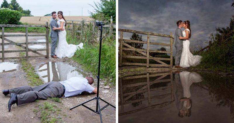 65 фото-доказательств, что свадебные фотографы готовы на все ради запоминающегося кадра (65фото)