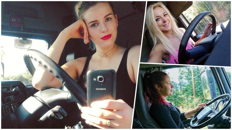 20 прекрасных девушек, которые водят грузовики (25фото)