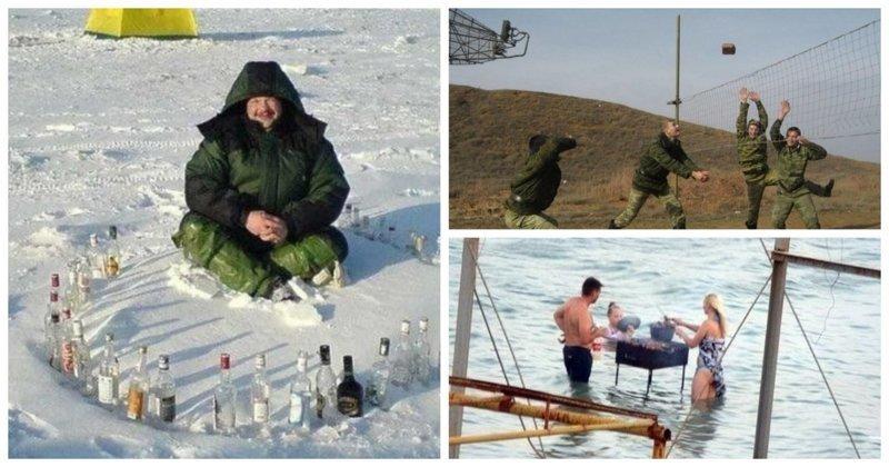 Русские развлечения, которые поражают иностранцев (24фото)
