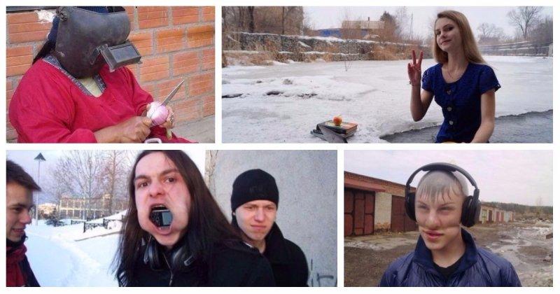 28 странных вещей, которые происходят только в суровой России (29фото)