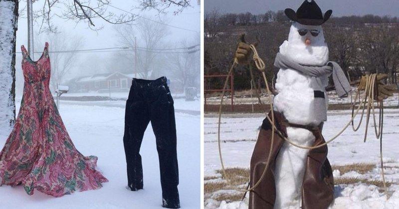 25 самых смешных вариантов того, как сделать зиму лучше (26фото)