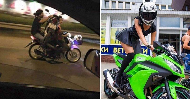 Если и есть настоящая любовь, то это любовь к мотоциклу (19фото)