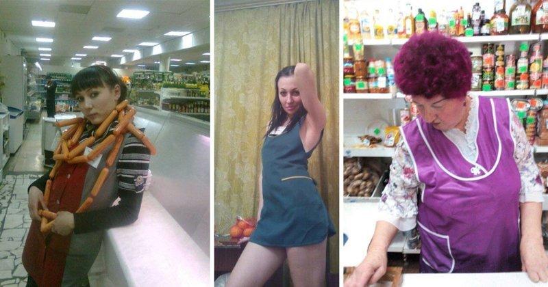 Продавщицы из продуктовых, которые сведут вас с ума (20фото)