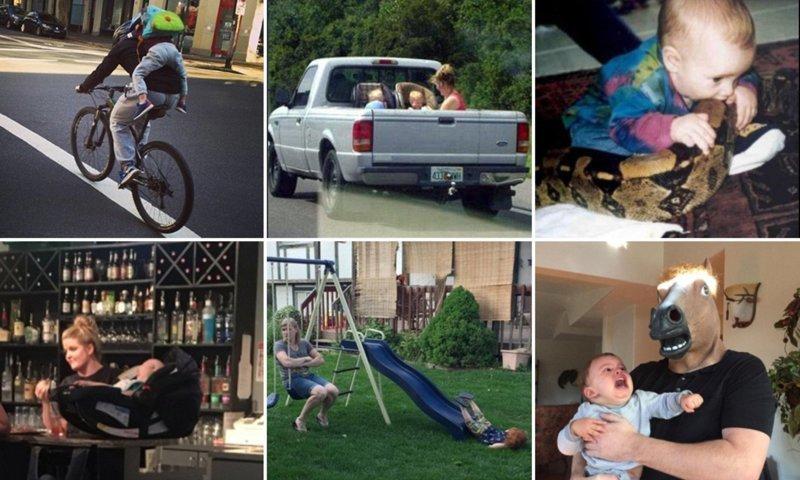 14 родителей, постигающих искусство воспитания детей (13фото+1видео)