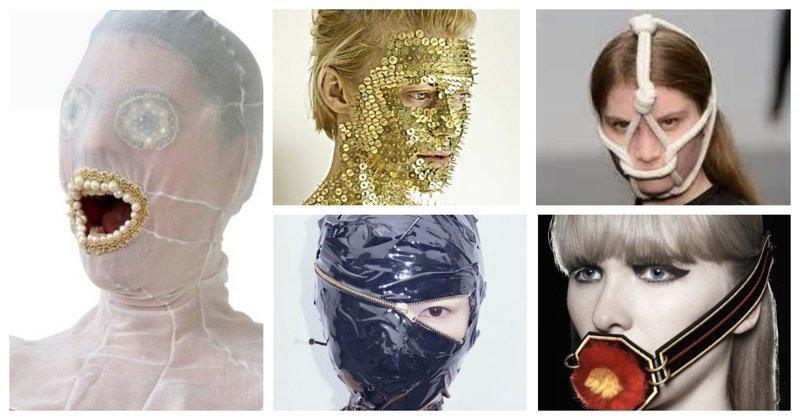 Безумная фантазия, или арт-издевательства над лицом (40фото)