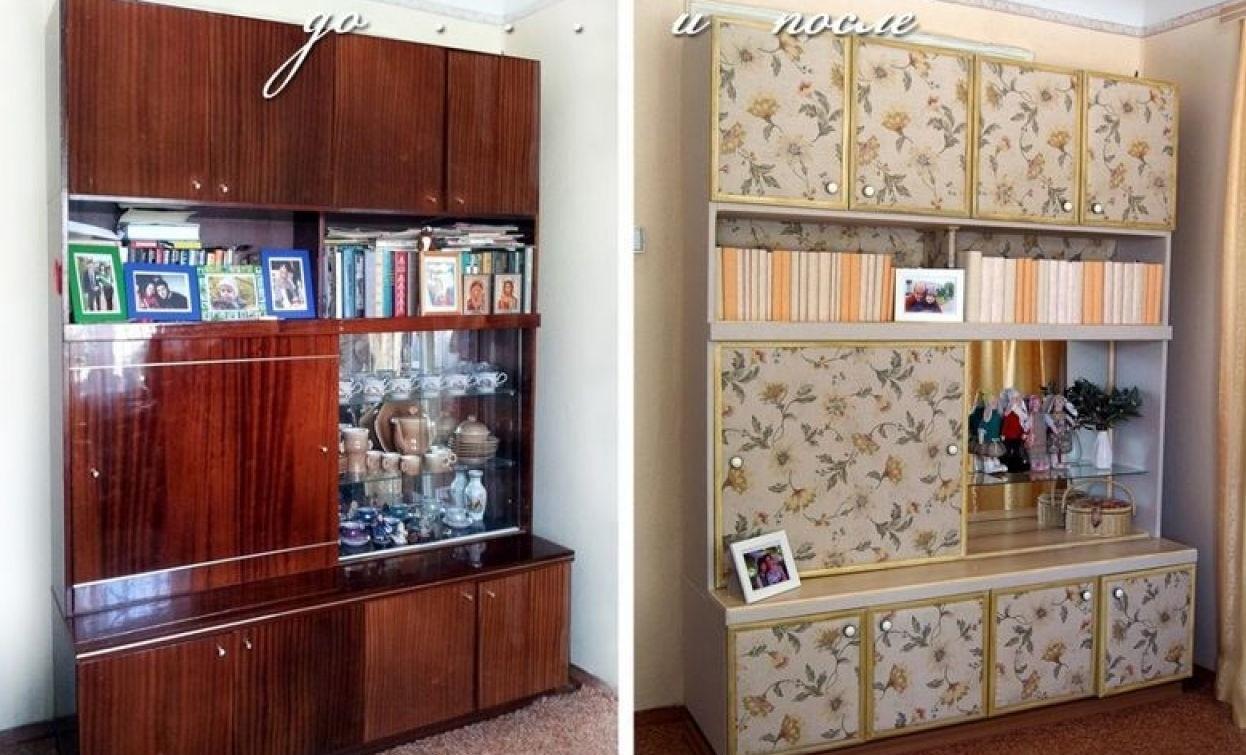 Не торопитесь выбрасывать старую советскую мебель! Вот как круто можно ее переделать (22фото)