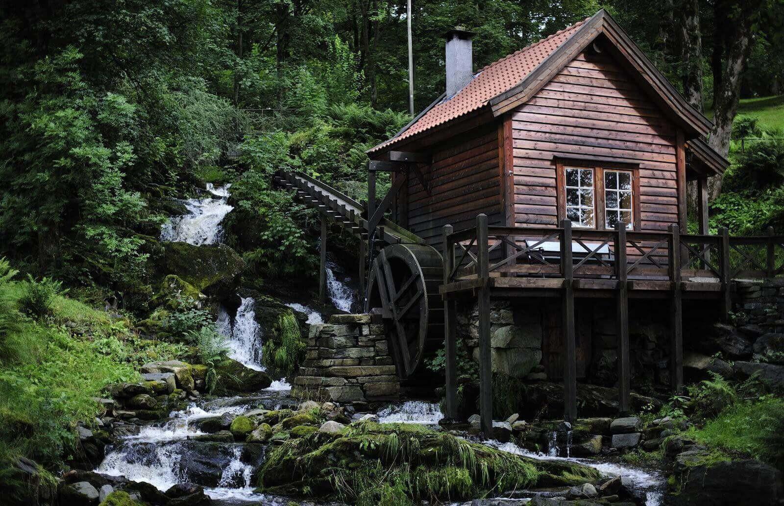 Дома, в которых вы хотели бы жить (20фото)