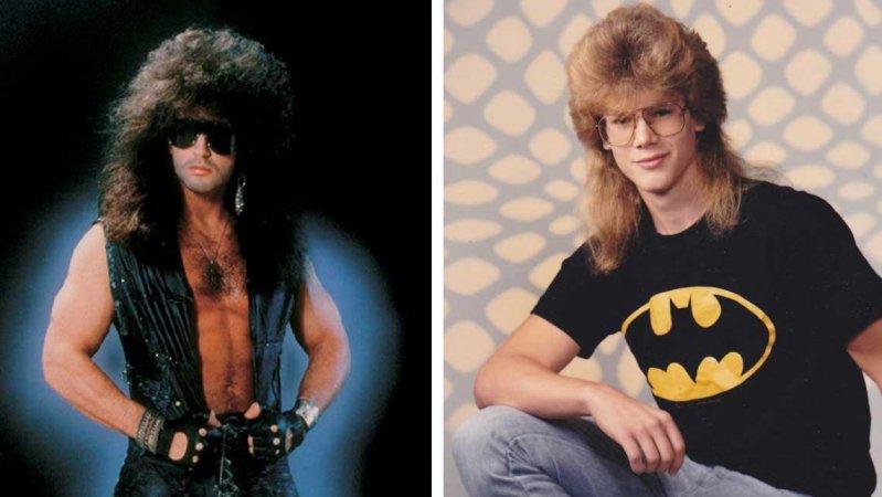 Безумные прически 80-х годов (17фото)