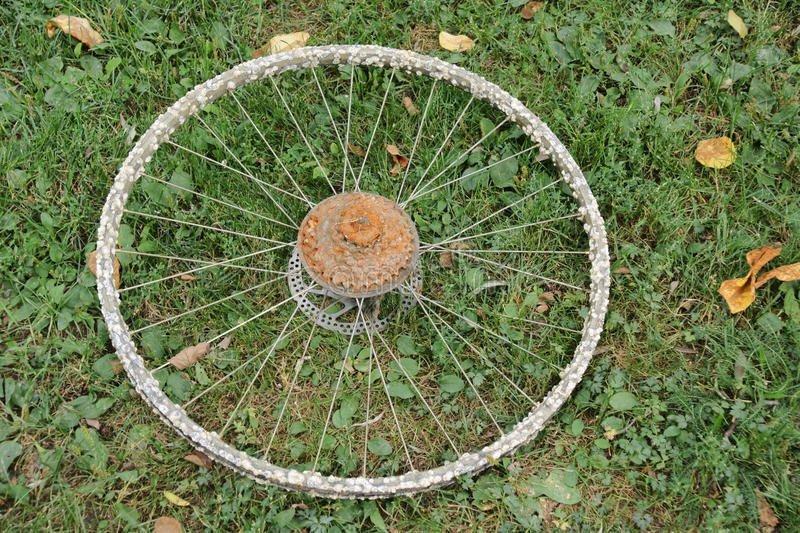 Мужчина нашел ржавое велосипедное колесо в гараже и вот что с ним сделал. Просто фантастика! (22фото)