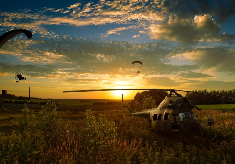 Вертолеты на пенсии (27фото)