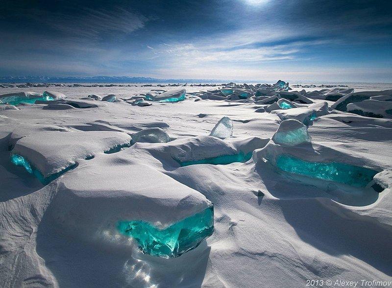 Ледяное вдохновение — фото интересных образований изо льда (28фото)