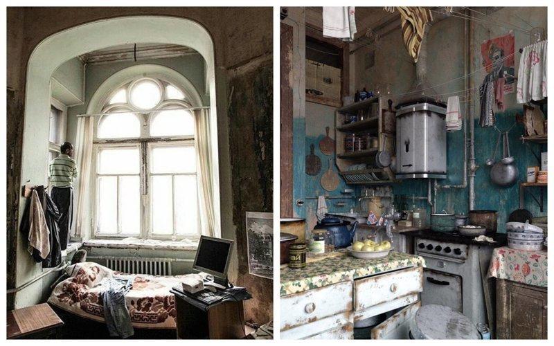 Очарование и колорит коммунальных квартир России (23фото)