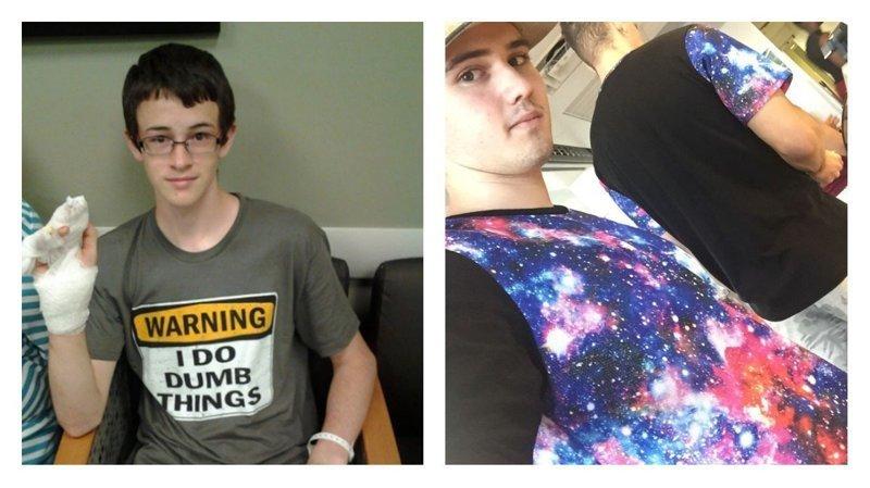 Они надели футболки исключительно к месту! (42фото)