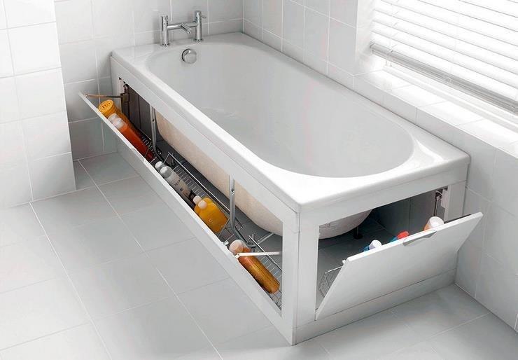 Гениальные идеи! 17 и 1 способ сэкономить пространство в вашей квартире (18фото)