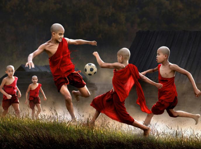 Уникальный фотопроект: как проходит детство у ребятни из разных стран мира? (14фото)