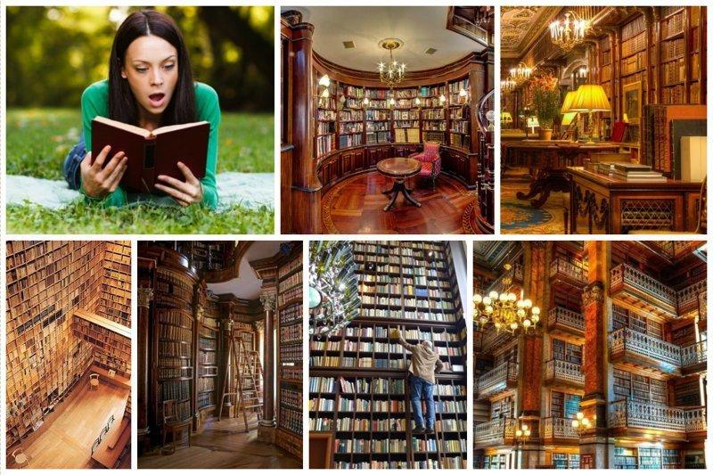 Господа, читайте больше, или дом без книг - не дом (35фото)