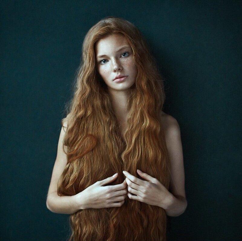 Длинноволосые, рыжеволосые (44фото)