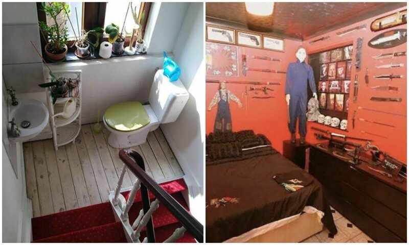Самые странные квартиры на продажу, сфотографированные риелторами (45фото)