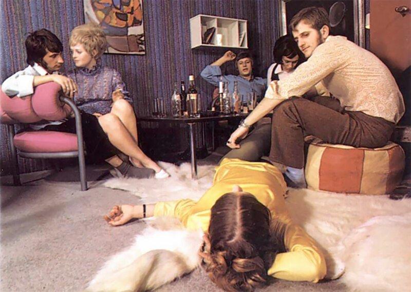 Вечеринки в 1970-х годах (24фото)