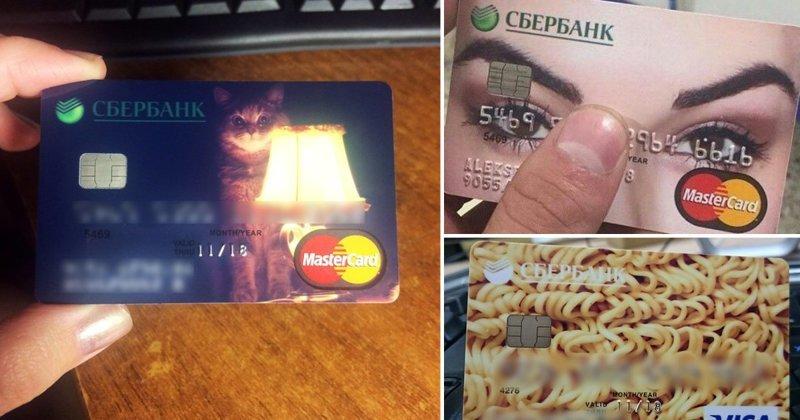 20+ крутых идей для оформления вашей банковской карты (24фото)