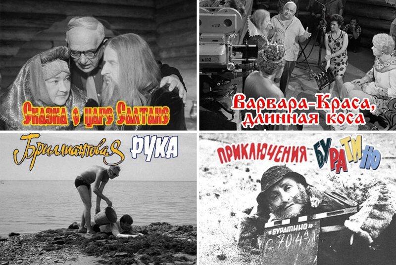 За кадром любимых советских фильмов (16фото)
