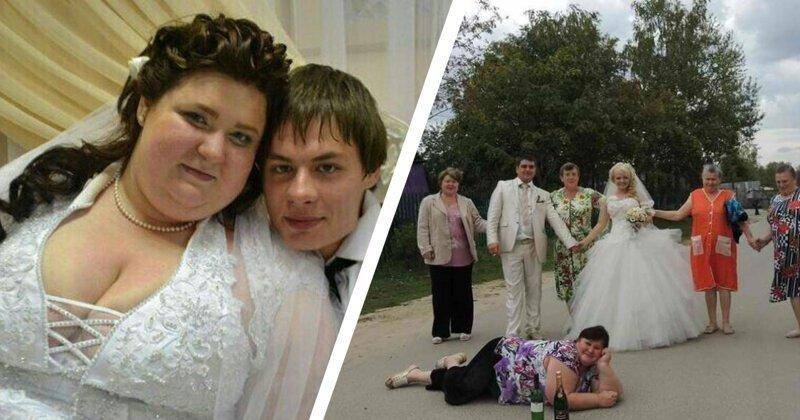 Свадьбы без понтов. Как отмечают бракосочетания в деревнях (20фото)