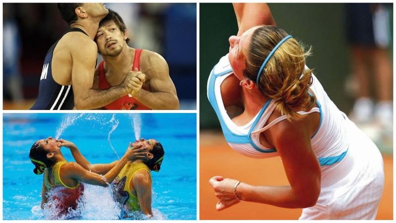 Курьёзные моменты, которые делают спорт ещё интереснее (23фото)
