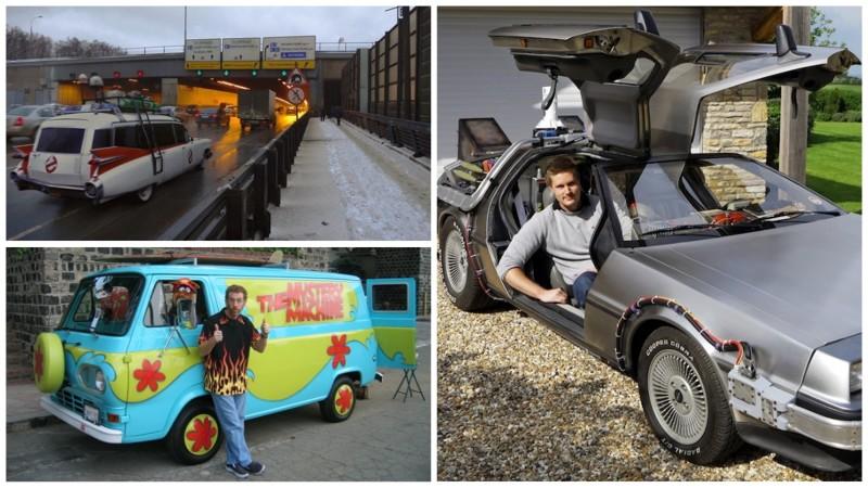 Когда автомобили из культовых фильмов выезжают на реальные улицы (23фото)